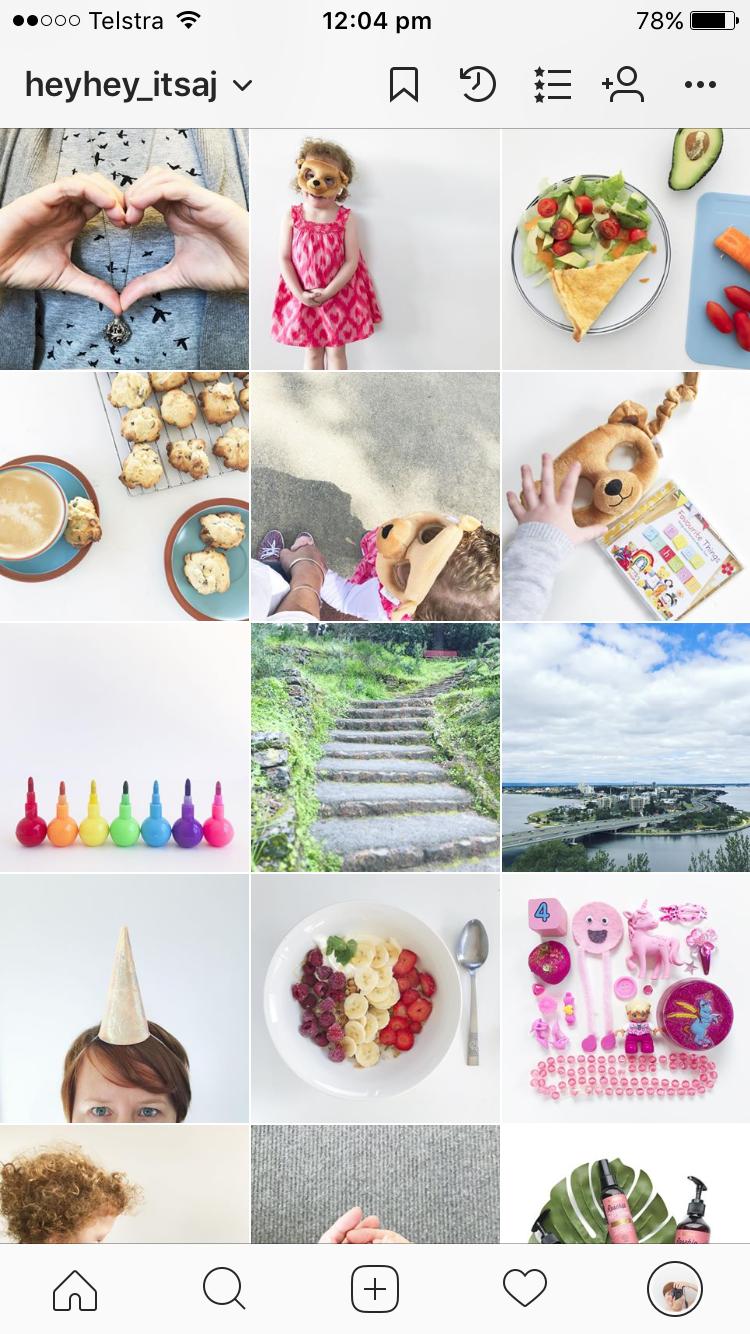 heyday_itsaj instagram feed