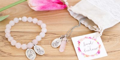 Laced with Kindess meaningful jewellery