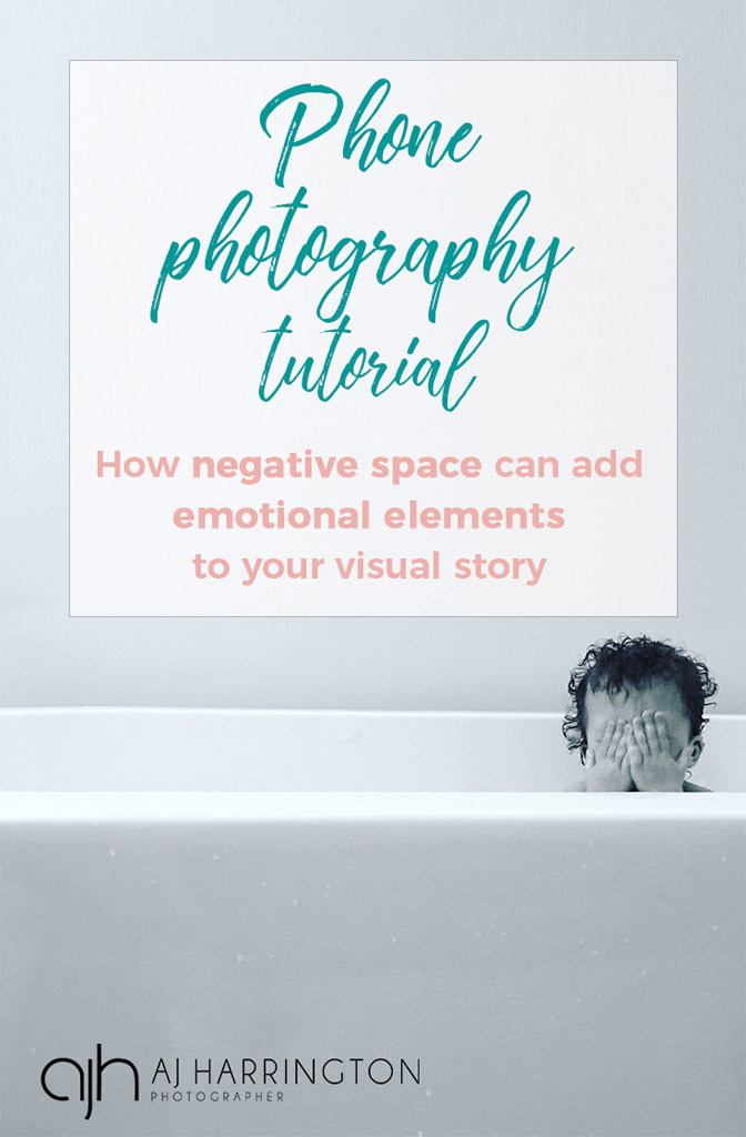 using negative space to tell a story